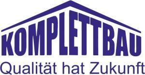 Logo Komplettbau Qualitaet hat Zukunft